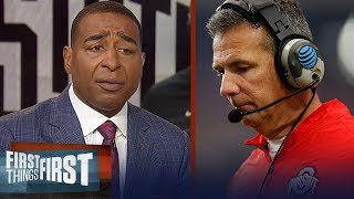 Cris Carter reacts to Urban Meyer retiring from Ohio State   CFB   FIRST THINGS FIRST