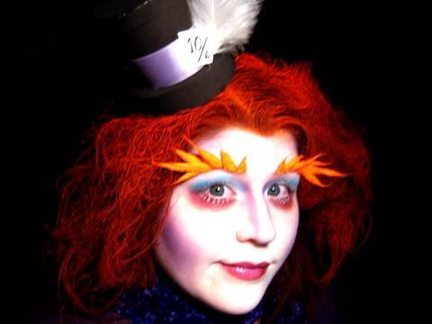 Tim Burton's Alice in Wonderland: Mad Hatter Makeup