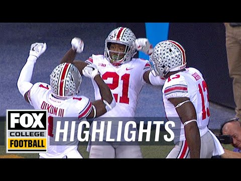 Parris Campbell takes the screen pass 57 yards to the house | Highlights | FOX COLLEGE FOOTBALL