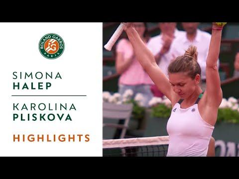 Simona Halep vs Karolina Pliskova