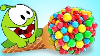 Om Nom Stories: OM NOM VS GIANT CANDY LOLLIPOPS | Cut the Rope | HooplaKidz TV | LIVE 🔴