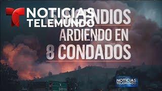 Devastador incendio hace estragos en California   Noticiero   Noticias Telemundo