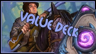 Is this the best value deck out there? | Recruit hunter | The Witchwood | Hearthstone