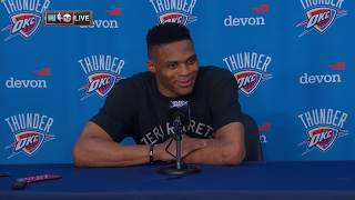 Russell Westbrook Postgame Interview | Rockets vs Thunder | January 9, 2020