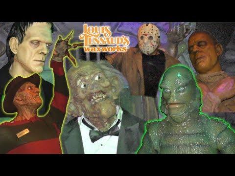 Spooky Wax Museum with Freddy Krueger, Frankenstein, Mummy, Taylor Swift  Louis Tussaud's   DavidsTV