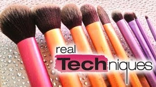 Real Techniques BRUSH REVIEW! ♡