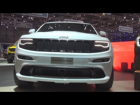 Jeep Grand Cherokee (2016) Exterior and Interior in 3D