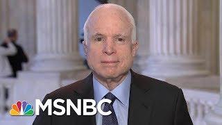 Joe: Who Are The People Booing John McCain? | Morning Joe | MSNBC