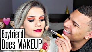 BOYFRIEND Does My Makeup!   Sylvia Gani