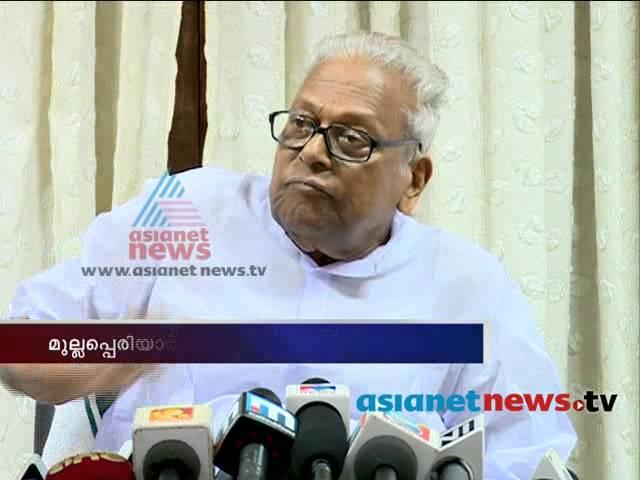 VS Achuthanandan response on Mullaperiyar Case Verdict