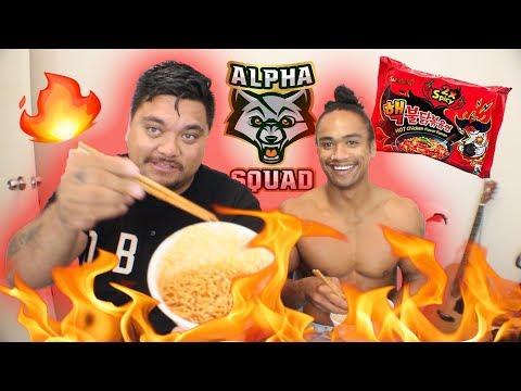 Halfcast Do The X2 Spicy Noodles Challenge