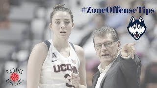 UCONN Huskies (NCAAW) - Zone Offense Tips