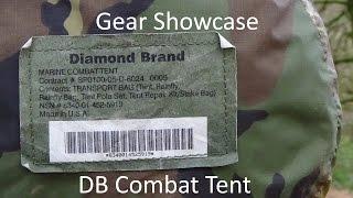Gear Showcase: The Diamond Brand US Marine Corps Combat Tent Stealth Camping/Wild Camping/Bushcraft