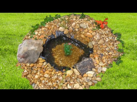 THE WORLDS SMALLEST POND!!