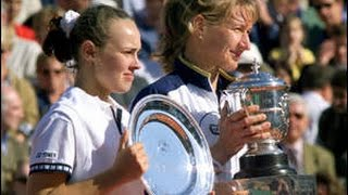 Martina Hingis vs Steffi Graf 1999 RG Highlights