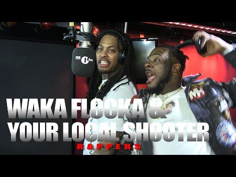 Waka Flocka X Your Local Shooter aka Loudiene - Fire In The Booth