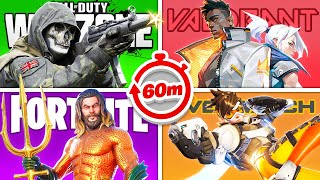 Ultimate Gaming Olympics 1 Hour Race!