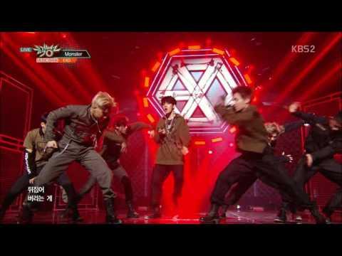 EXO (엑소) - Monster (몬스터)  Comeback Stage Mix 무대모음 교차편집