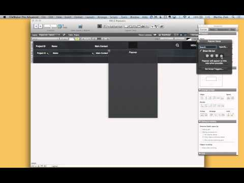 FileMaker 13: Using Popover Buttons with Icons