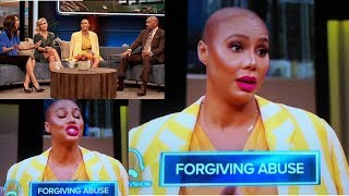 "TAMAR BRAXTON talks about VINCE on the STEVE HARVEY SHOW! ""DON'T TOUCH/HIT ME! You are not my DADDY"""