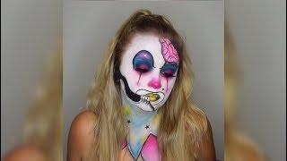 BEST Makeup Halloween Tutorial 2018 | Cool DIY Halloween Makeup Ideas
