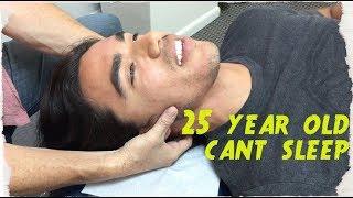 25 year hasn't SLEPT in 5 YEARS. Chiropractor Turns LIFE around.