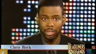 Chris Rock Biography His Life Story Told on Headliners & Legends (2001)