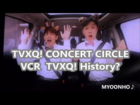 [윤호FANCAM]  TVXQ! CONCERT CIRCLE VCR④ ユノ チャンミン- History Parody -