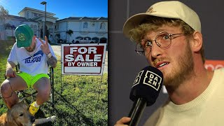 Logan Paul Reacts To Jake Paul Selling The Team 10 House