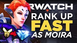 Top 5 Best Moira Tips to Rank Up FAST | Beginner to Advanced - Overwatch Guide