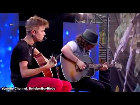 Justin Bieber - singing One time in 2013 (New)
