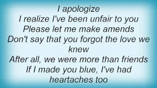 Billy Eckstine - I Apologize Lyrics_1