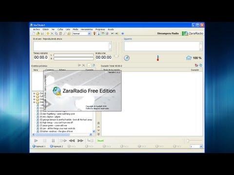 Manual: Transmitir una Radio Online con ZaraRadio