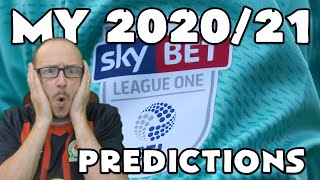 MY 2020/21 LEAGUE 1 PREDICTIONS