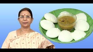 Idli - soft | Mallika Badrinath | Indian food recipes