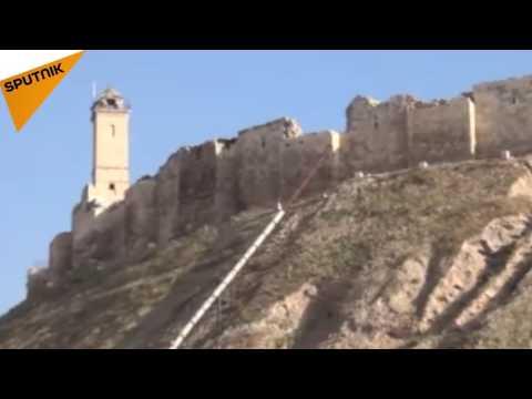 فيديو.. أعمال تأهيل لقلعة حلب استعداداً ...