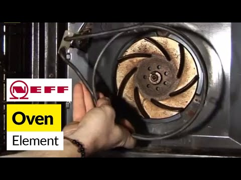 How To Replace An Oven Element In A Neff Fan Oven Youtube