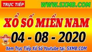 XSMN TRỰC TIẾP XỔ SỐ MIỀN NAM HÔM NAY THỨ 3 NGÀY 04/08/2020, KQXS MIEN NAM