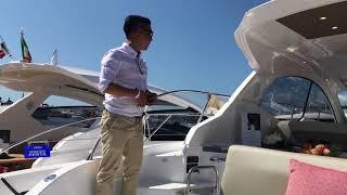 [Review] - Du thuyền Azimut Atlantis 43 tại Cannes Yachts Show 2017