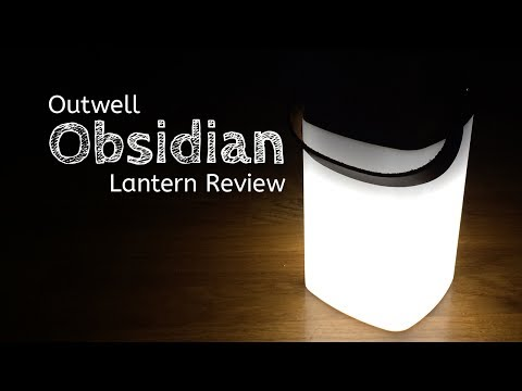video Outwell Obsidian Lantern Review
