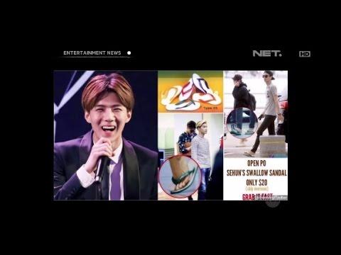 Sendal jepit yang dipakai Sehun EXO dijual seharga 20 Dollar