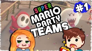 TEAMING UP! | Husband and Wife Play: Super Mario Party | Ep.01