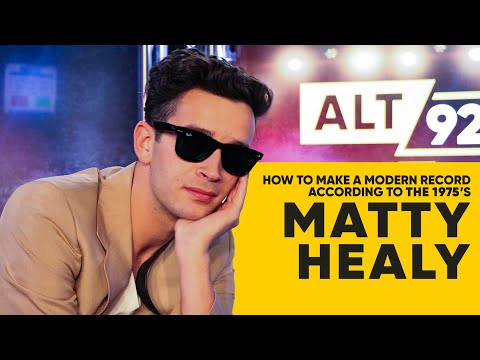 How to Make a Modern Record, According to Matty Healy of The 1975