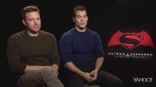 Batman v Superman - Sad Ben Affleck interview