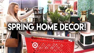 SHOP WITH ME AT TARGET **SPRING HOME DECOR**