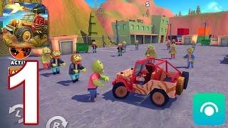 Zombie Safari - Gameplay Walkthrough Part 1 - Harbor (iOS, Android)