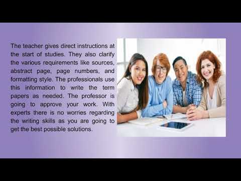 Term Papers Writing Service For The Most Effective Research