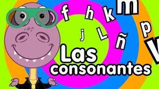Canción de las consonantes - Canciones Infantiles