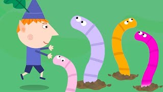 Ben and Holly's Little Kingdom | Worm Hunting | 1Hour | HD Cartoons for Kids