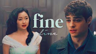 Lara Jean & Peter   Fine Line